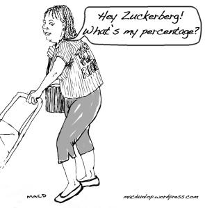 Hey Zuckerberg! What's my percentage?