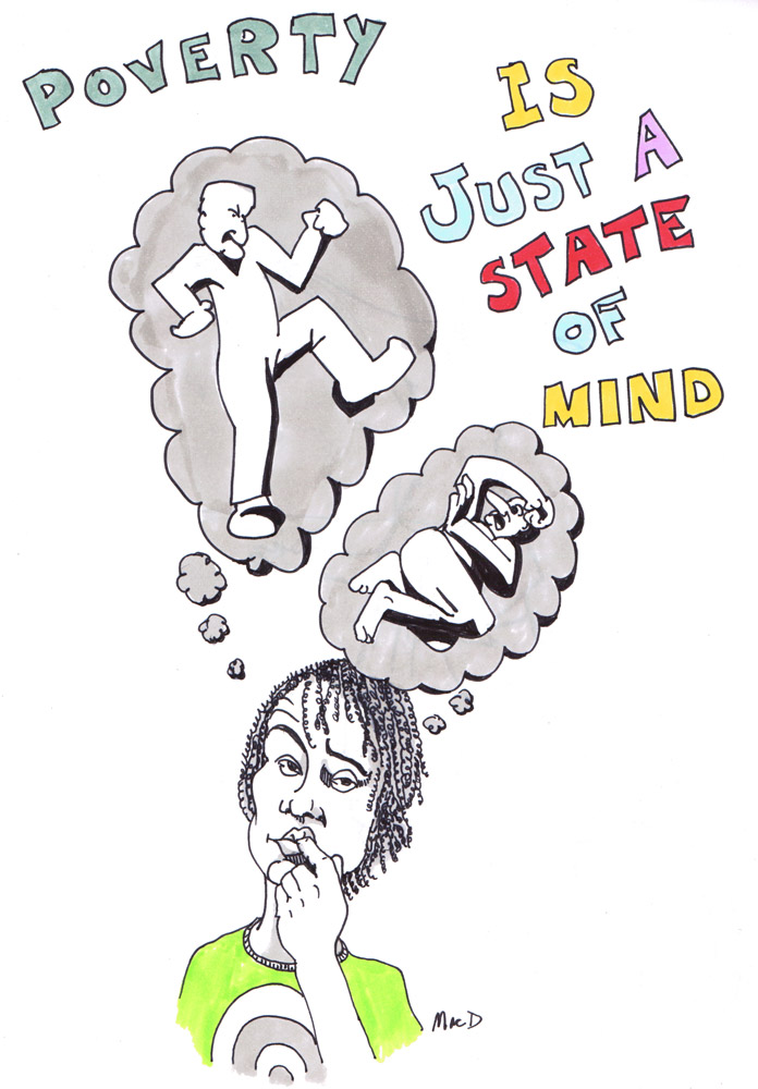 poverty being a state of mind by macd
