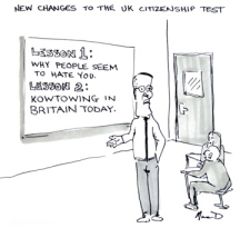 citizenshil tests in the uk by macd