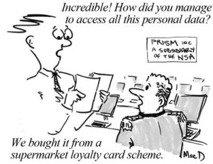 NSA prism loyalty card scheme by macdunlop ©2013