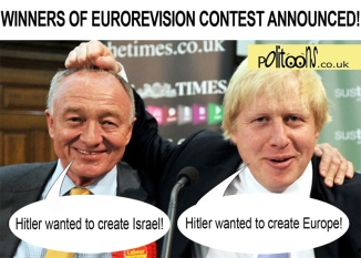 eurorevision-ken and boris battle it out over hitler claims -macd